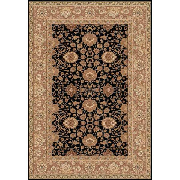 Lano luxusní orientální koberce Kusový koberec Kamira 4472-799, 67x135% Černá - Vrácení do 1 roku ZDARMA vč. dopravy
