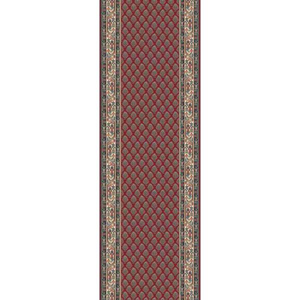 Lano luxusní orientální koberce Běhoun Kasbah 12248-474, Šířka běhounu šíře 50 cm Červená - Vrácení do 1 roku ZDARMA