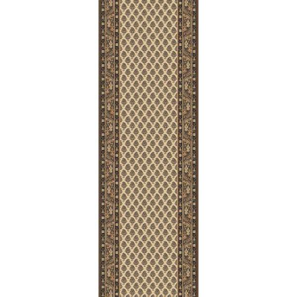 Lano luxusní orientální koberce Běhoun Kasbah 12248-477, Šířka běhounu šíře 50 cm Hnědá, Béžová - Vrácení do 1 roku ZDARMA