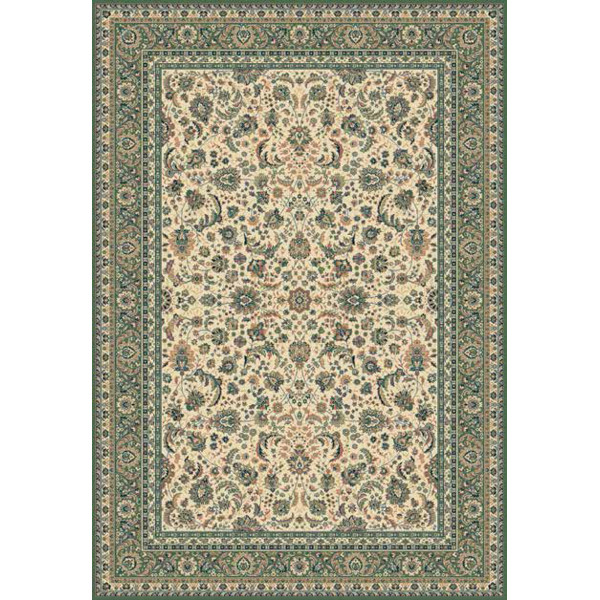 Lano luxusní orientální koberce Kusový koberec Kasbah 13720-416, kusových koberců 300x400 cm% Zelená - Vrácení do 1 roku ZDARMA vč. dopravy