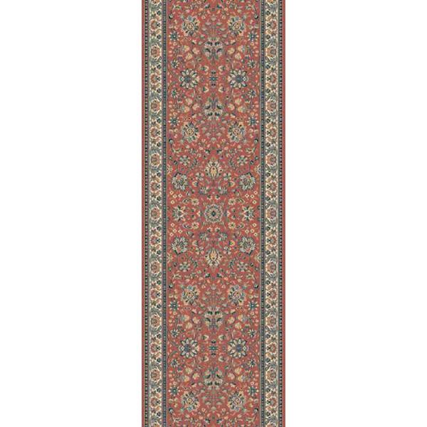 Lano luxusní orientální koberce Běhoun Kasbah 12246-472, Šířka běhounu šíře 50 cm Červená - Vrácení do 1 roku ZDARMA
