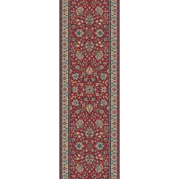 Lano luxusní orientální koberce Běhoun Kasbah 12246-474, Šířka běhounu šíře 50 cm Červená - Vrácení do 1 roku ZDARMA