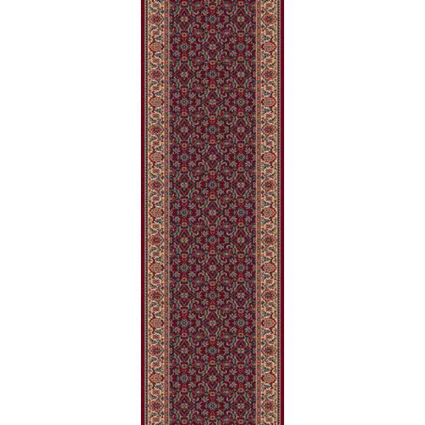 Lano luxusní orientální koberce Běhoun Konia 1137-501, Šířka běhounu šíře 120 cm Červená - Vrácení do 1 roku ZDARMA