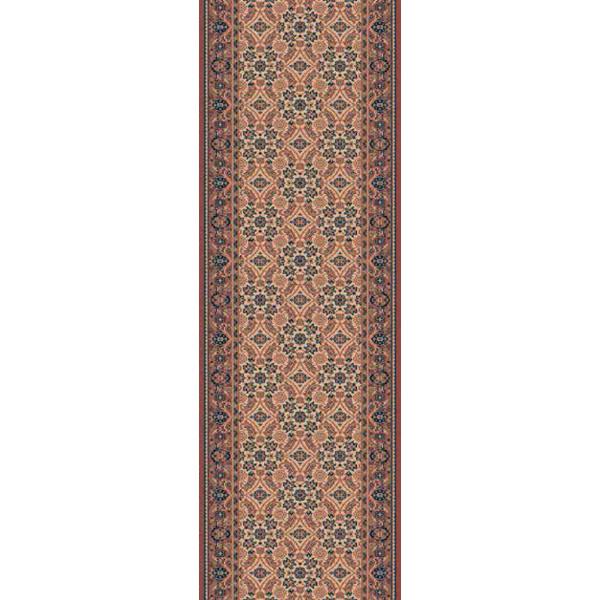 Lano luxusní orientální koberce Běhoun Konia 1137-523, Šířka běhounu šíře 120 cm% Oranžová - Vrácení do 1 roku ZDARMA vč. dopravy
