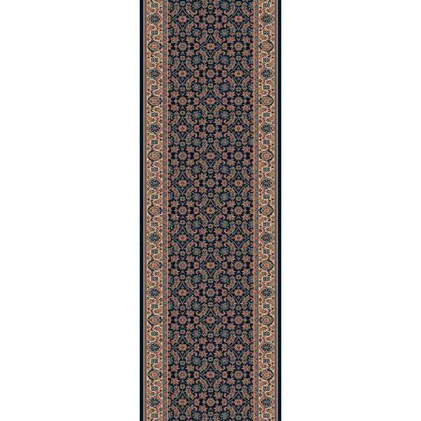 Lano luxusní orientální koberce Běhoun Konia 1137-534, Šířka běhounu šíře 120 cm Černá - Vrácení do 1 roku ZDARMA