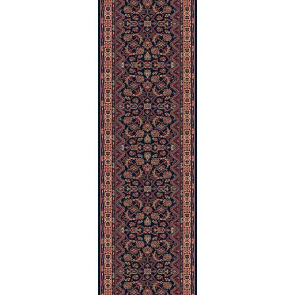 Lano luxusní orientální koberce Běhoun Konia 1175-534, Šířka běhounu šíře 120 cm Červená, Modrá - Vrácení do 1 roku ZDARMA