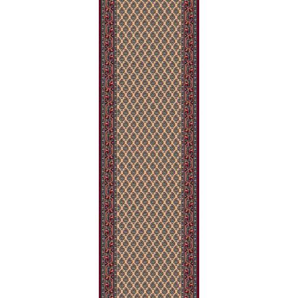 Lano luxusní orientální koberce Běhoun Konia 1181-522, Šířka běhounu šíře 120 cm% Červená, Béžová - Vrácení do 1 roku ZDARMA vč. dopravy