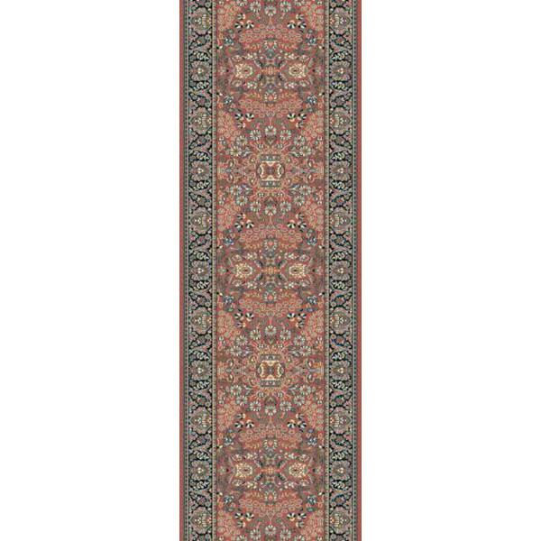 Lano luxusní orientální koberce Běhoun Kasbah 12241-472, Šířka běhounu šíře 50 cm Červená - Vrácení do 1 roku ZDARMA