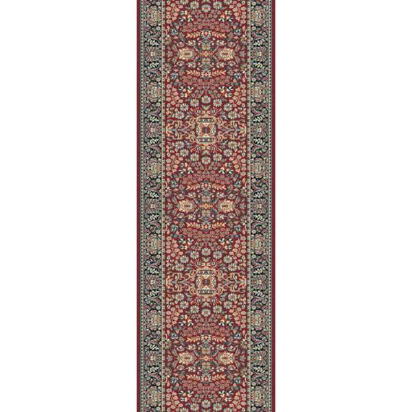 Lano luxusní orientální koberce Běhoun Kasbah 12241-474, Šířka běhounu šíře 50 cm Hnědá - Vrácení do 1 roku ZDARMA