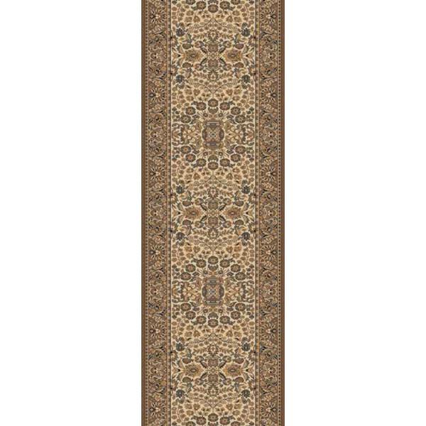Lano luxusní orientální koberce Běhoun Kasbah 12241-477, Šířka běhounu šíře 50 cm Hnědá, Béžová - Vrácení do 1 roku ZDARMA