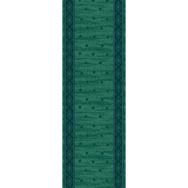 Lano luxusní orientální koberce Běhoun Elysee 1536-602, Šířka běhounu šíře 60 cm% Zelená - Vrácení do 1 roku ZDARMA vč. dopravy