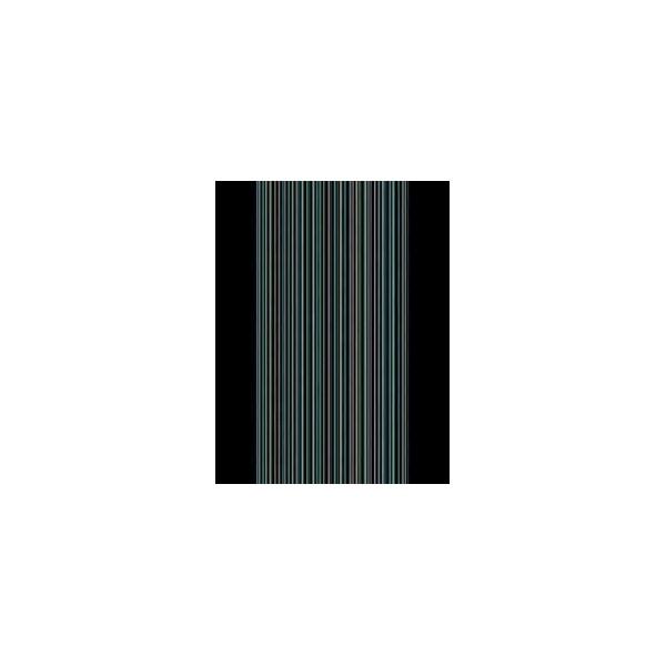 Lano luxusní orientální koberce Běhoun Avenue 59064-400, Šířka běhounu šíře 67 cm Černá - Vrácení do 1 roku ZDARMA