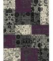 Kusový koberec Prime Pile 101185 Patchwork Optik Lila/Grau/Beige
