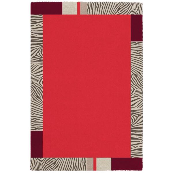 Obsession koberce Kusový koberec Broadway 283 CORAL, koberců 80x150 cm Červená - Vrácení do 1 roku ZDARMA