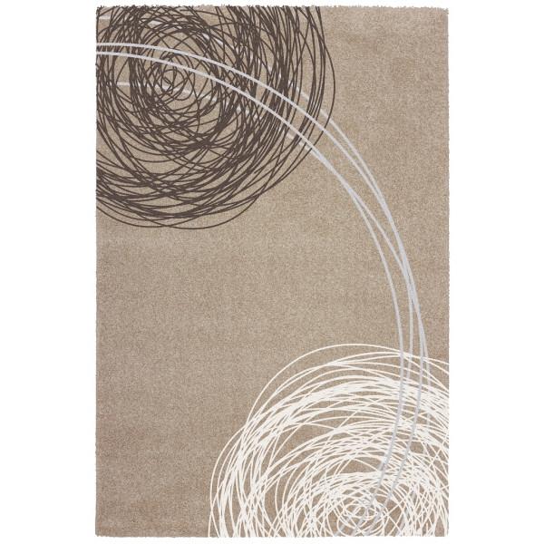 Obsession koberce Kusový koberec SOHO 842 SAND, koberců 80x150 cm Šedá - Vrácení do 1 roku ZDARMA