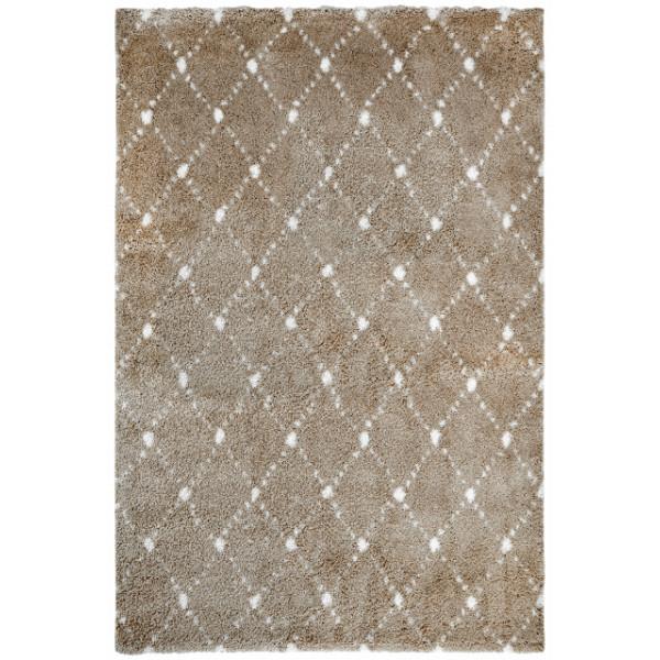 Obsession koberce Kusový koberec Manhattan 791 SAND, koberců 60x110 cm Hnědá - Vrácení do 1 roku ZDARMA