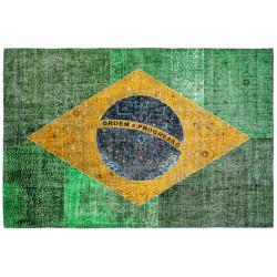 Kusový koberec Torino flags 420 BRAZIL