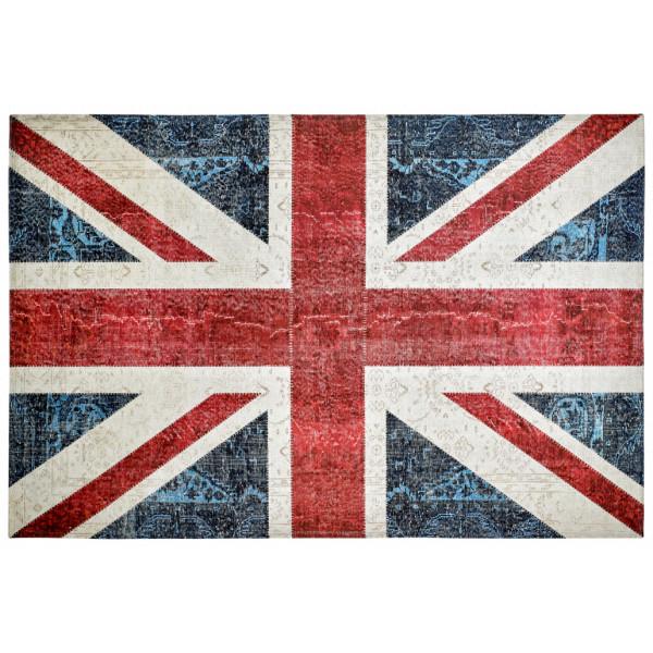 Obsession koberce Kusový koberec Torino flags 422 UNION JACK, kusových koberců 120x170 cm% Červená - Vrácení do 1 roku ZDARMA vč. dopravy