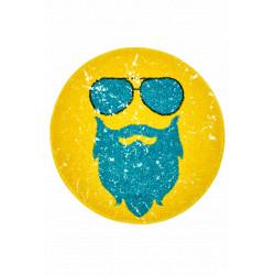 Kusový koberec Hipster 612 GINGER ROUND