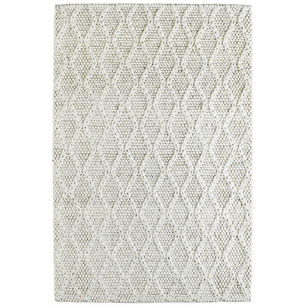Obsession koberce Ručně tkaný kusový koberec Studio 620 IVORY, koberců 160x230 cm Bílá - Vrácení do 1 roku ZDARMA