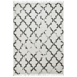 Ručně tkaný kusový koberec Stockholm 341 ANTHRACITE