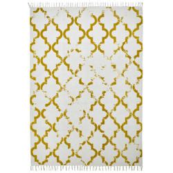 Ručně tkaný kusový koberec Stockholm 341 MUSTARD