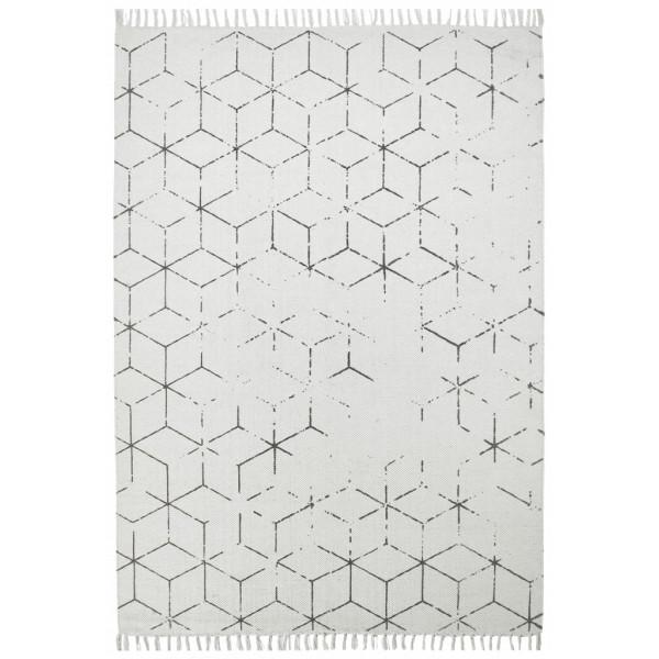 Obsession koberce Ručně tkaný kusový koberec Stockholm 342 GREY, kusových koberců 60x110 cm% Bílá - Vrácení do 1 roku ZDARMA vč. dopravy