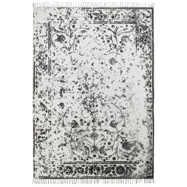 Obsession koberce Ručně tkaný kusový koberec Stockholm 340 ANTHRACITE, koberců 60x110 cm Černá - Vrácení do 1 roku ZDARMA