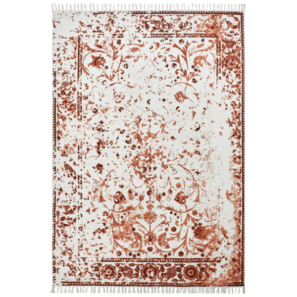 Obsession koberce Ručně tkaný kusový koberec Stockholm 340 MAROON, koberců 60x110 cm Červená - Vrácení do 1 roku ZDARMA
