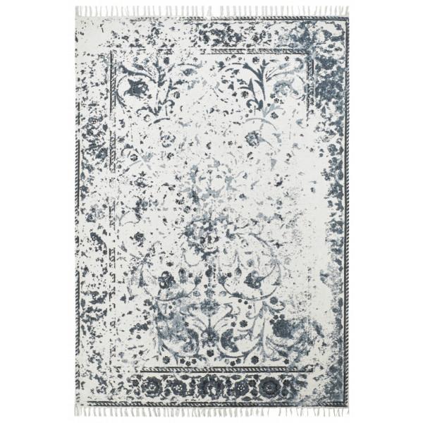 Obsession koberce Ručně tkaný kusový koberec Stockholm 340 INDIGO, koberců 60x110 cm Černá - Vrácení do 1 roku ZDARMA