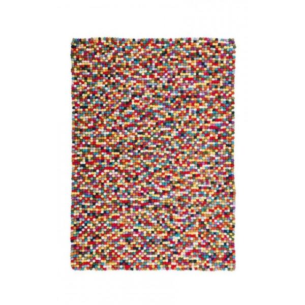 Obsession koberce Ručně tkaný kusový koberec Passion 730 MULTI, kusových koberců 120x170 cm% Červená - Vrácení do 1 roku ZDARMA vč. dopravy