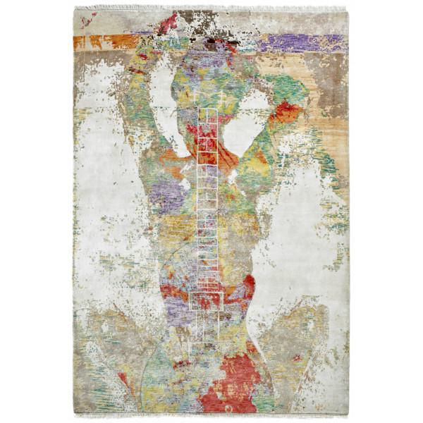 Obsession koberce Ručně tkaný kusový koberec Sound of Obsession 110 MULTI, 120x170 cm% Hnědá - Vrácení do 1 roku ZDARMA vč. dopravy