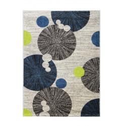 Kusový koberec COSI 78028 Ivory/Green/Blue