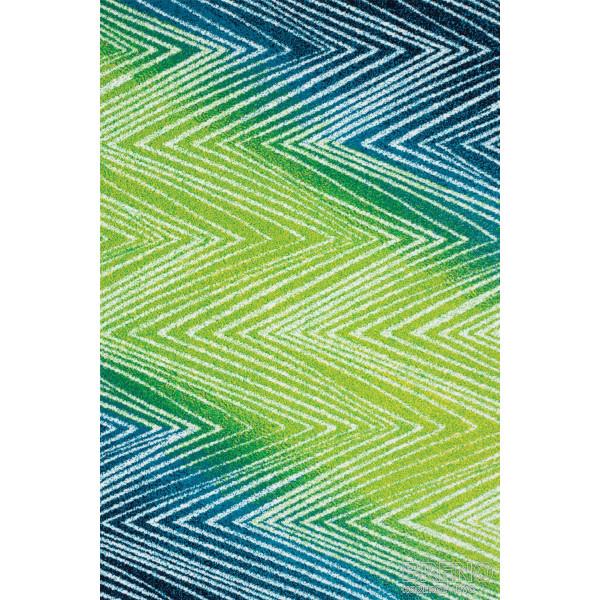 Sintelon koberce Kusový koberec City 64/PYP, kusových koberců 80x150 cm% Zelená - Vrácení do 1 roku ZDARMA vč. dopravy