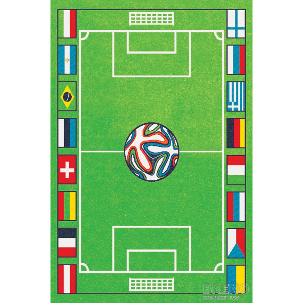 Sintelon koberce Kusový koberec Play 04/AVA, koberců 120x170 cm Zelená - Vrácení do 1 roku ZDARMA