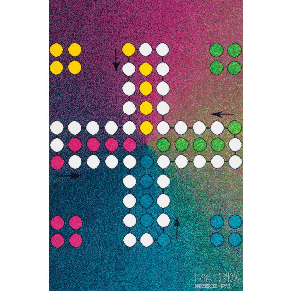 Sintelon koberce Kusový koberec Play 94/RYK, koberců 120x170 cm Modrá - Vrácení do 1 roku ZDARMA