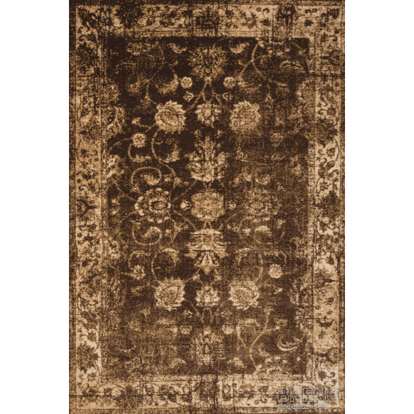 Sintelon koberce Kusový koberec Solid 18/DOD, 80 x 150% Hnědá - Vrácení do 1 roku ZDARMA vč. dopravy