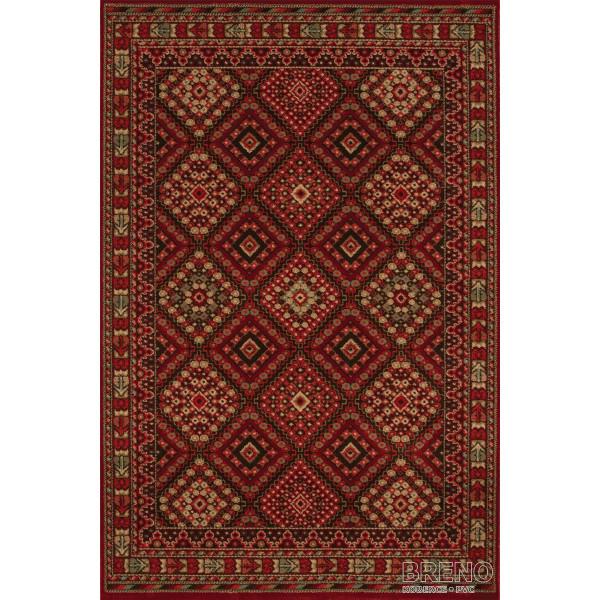 Sintelon koberce Kusový koberec Solid 49/CDC, 200x300 cm% Červená - Vrácení do 1 roku ZDARMA vč. dopravy