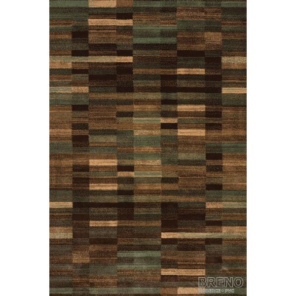 Sintelon koberce Kusový koberec Solid 89/DAD, 200x300 cm% Hnědá - Vrácení do 1 roku ZDARMA vč. dopravy