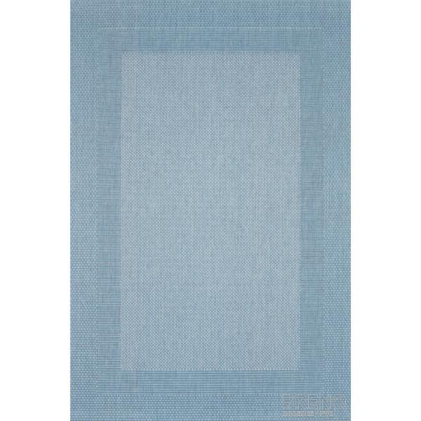 Sintelon koberce Kusový Koberec Adria 01/KSK, kusových koberců 70x140 cm% Modrá - Vrácení do 1 roku ZDARMA vč. dopravy
