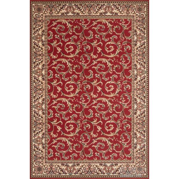 Sintelon koberce Kusový koberec Teheran Practica 57/CVC, koberců 150x225 Červená - Vrácení do 1 roku ZDARMA