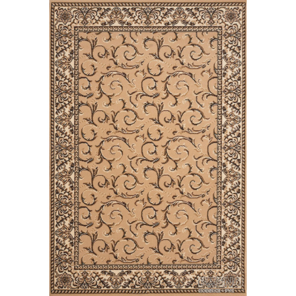 Sintelon koberce Kusový koberec Teheran Practica 57/EVE, koberců 150x225 Hnědá - Vrácení do 1 roku ZDARMA
