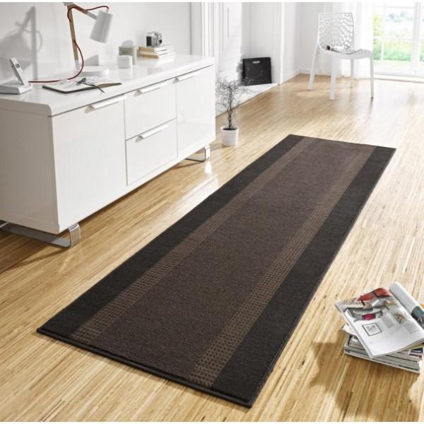 Hanse Home Collection koberce Kusový koberec Basic 102500, Rozměr 80x200 cm% Černá - Vrácení do 1 roku ZDARMA vč. dopravy