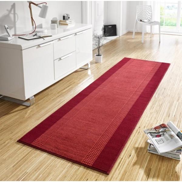 Hanse Home Collection koberce Kusový koberec Basic 102499, Rozměr 80x200 cm% Červená - Vrácení do 1 roku ZDARMA vč. dopravy