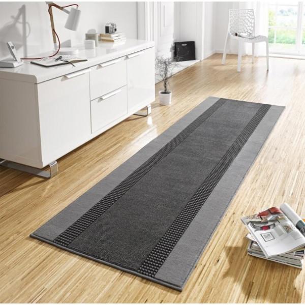 Hanse Home Collection koberce Kusový koberec Basic 102497, Rozměr 80x200 cm% Šedá - Vrácení do 1 roku ZDARMA vč. dopravy