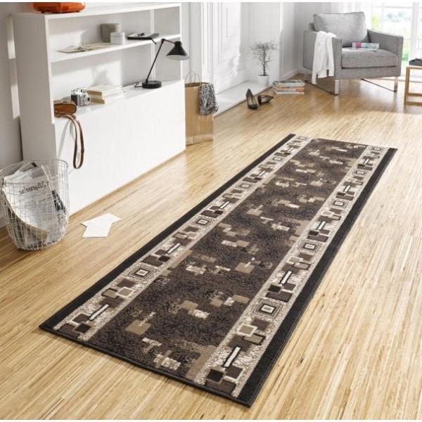 Hanse Home Collection koberce Kusový koberec Basic 102496, Rozměr 80x200 cm% Šedá - Vrácení do 1 roku ZDARMA vč. dopravy