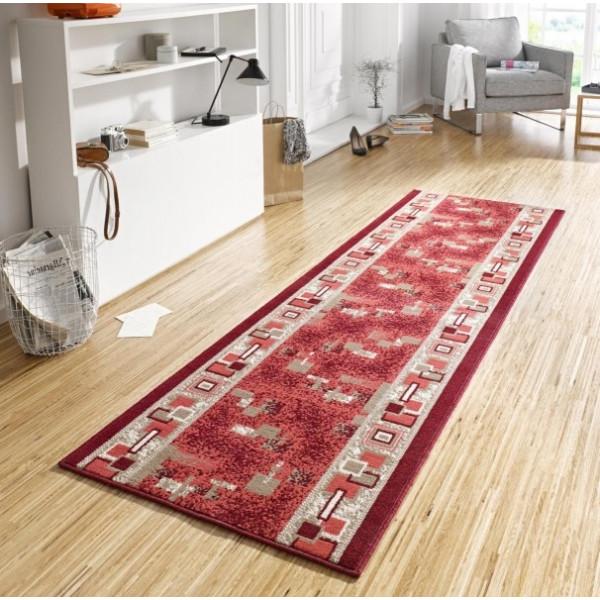 Hanse Home Collection koberce Kusový koberec Basic 102495, Rozměr 80x200 cm% Červená - Vrácení do 1 roku ZDARMA vč. dopravy