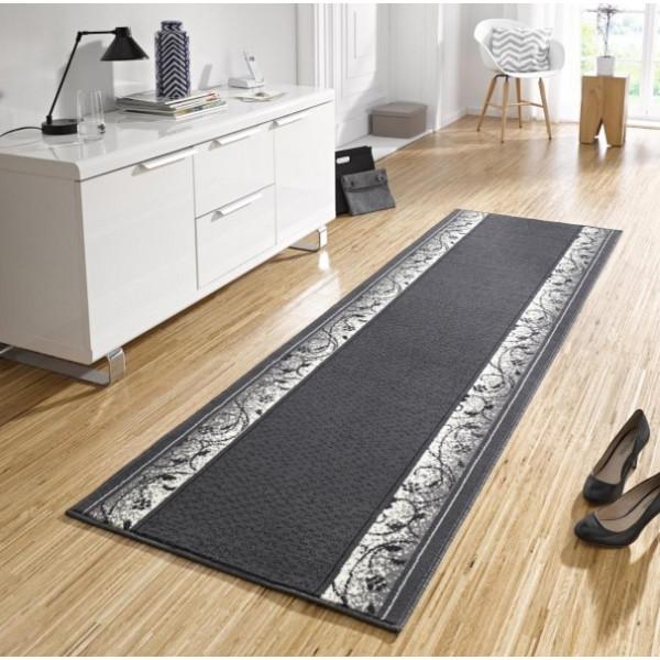 Hanse Home Collection koberce Kusový koberec Basic 102489, Rozměr 80x200 cm% Černá - Vrácení do 1 roku ZDARMA vč. dopravy