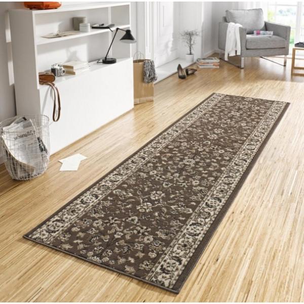 Hanse Home Collection koberce Kusový koberec Basic 102488, Rozměr 80x200 cm% Hnědá - Vrácení do 1 roku ZDARMA vč. dopravy