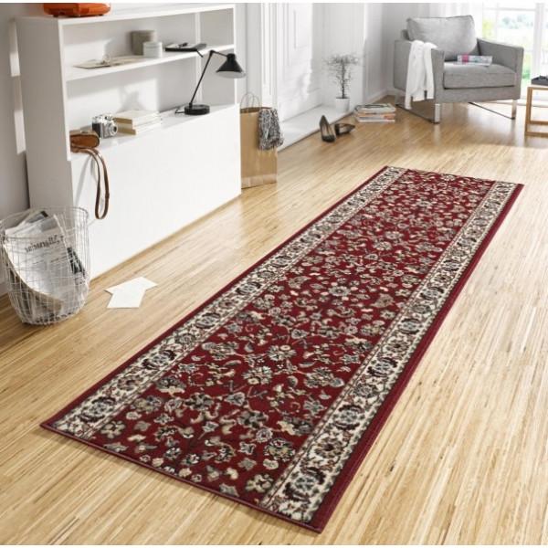 Hanse Home Collection koberce Kusový koberec Basic 102487, Rozměr 80x200 cm% Červená - Vrácení do 1 roku ZDARMA vč. dopravy